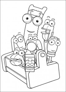 coloring page Handy Manny (25)
