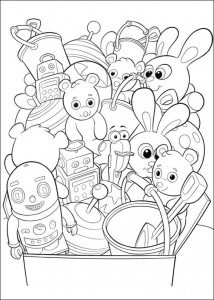 coloring page Handy Manny (26)