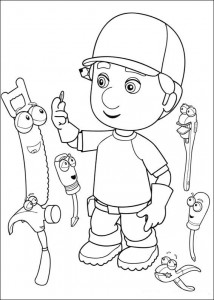 coloring page Handy Manny (27)