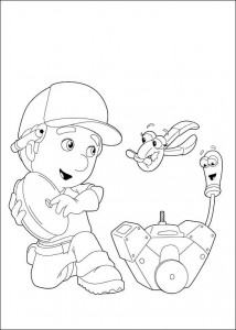 coloring page Handy Manny (3)