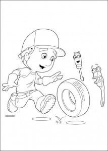 coloring page Handy Manny (4)