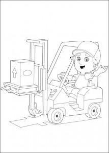 coloring page Handy Manny (5)