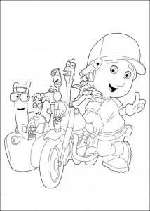 coloring page Handy Manny (6)
