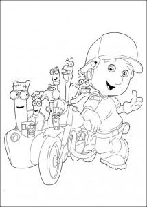 fargelegging Handy Manny (6)