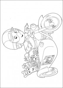 coloring page Handy Manny (7)