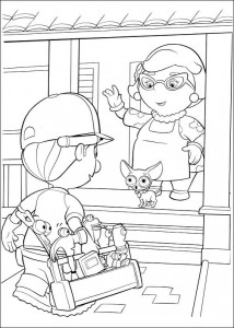 coloring page Handy Manny (8)