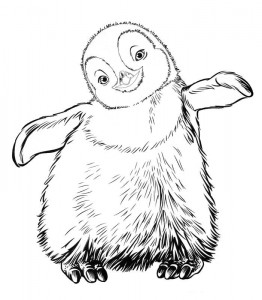 coloring page Happy Feet (1)