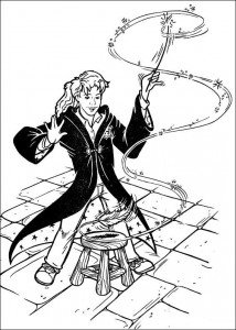 coloring page Harry Potter (15)