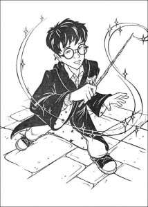 coloring page Harry Potter (18)