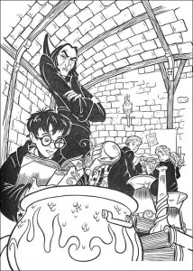 coloring page Harry Potter (56)