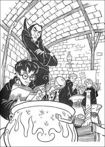 målarbok Harry Potter (56)