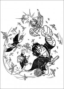 coloring page Harry Potter (62)