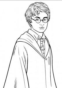 kleurplaat Harry Potter (65)