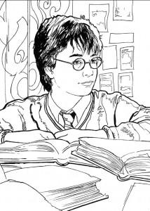 kleurplaat Harry Potter (72)