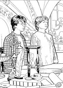 kleurplaat Harry Potter (74)