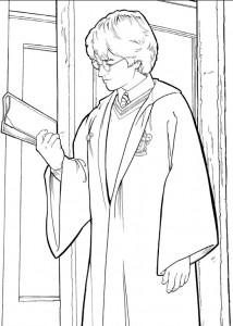 kleurplaat Harry Potter (76)