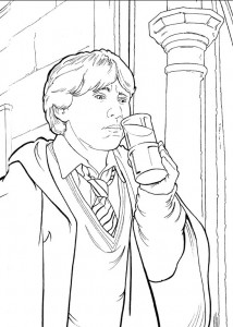 coloring page Harry Potter (77)