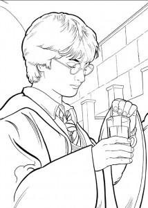 kleurplaat Harry Potter (78)