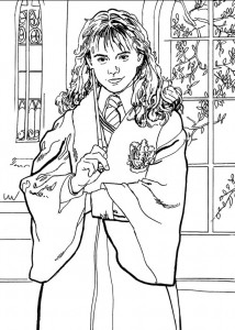 coloring page Harry Potter (81)