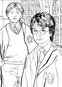 Disegno da colorare Harry Potter (82)