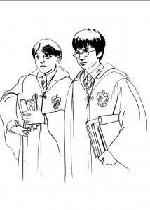 Disegno da colorare Harry Potter (89)