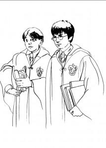 kleurplaat Harry Potter (89)