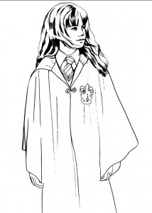 Disegno da colorare Harry Potter (90)