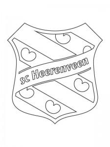 coloring page Heerenveen