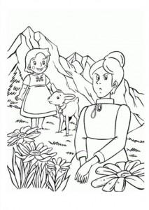 kleurplaat Heidi (11)