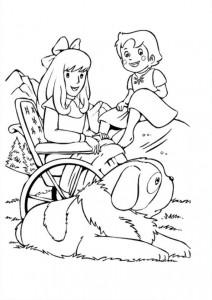 boyama kitabı Heidi (13)