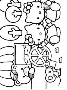 målarbok Hello Kitty (27)