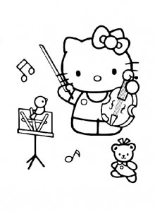 pagina da colorare Hello Kitty (29)