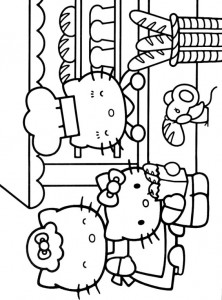 pagina da colorare Hello Kitty (30)