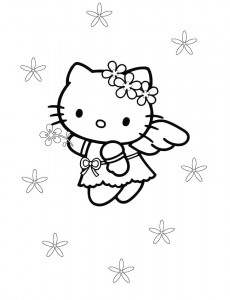 pagina da colorare Hello Kitty (32)