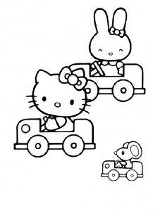 pagina da colorare Hello Kitty (33)