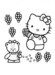pagina da colorare Hello Kitty (35)
