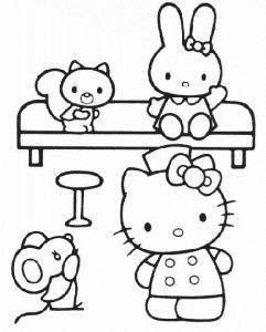 pagina da colorare Hello Kitty (37)