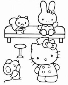målarbok Hello Kitty (37)