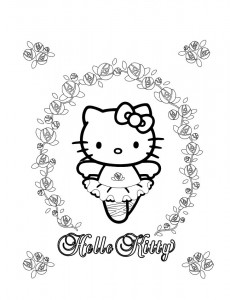 pagina da colorare Hello Kitty (38)
