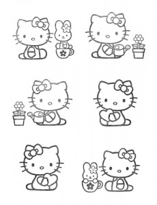 pagina da colorare Hello Kitty (41)