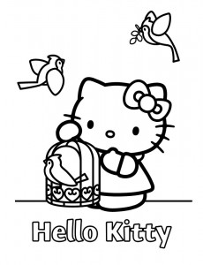 pagina da colorare Hello Kitty (42)