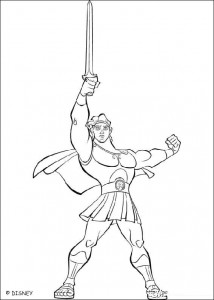 coloring page Hercules (15)