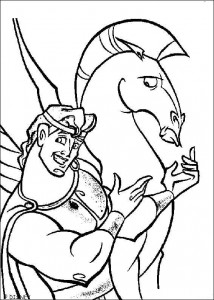 coloring page Hercules (16)