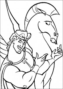 coloring page Hercules (20)