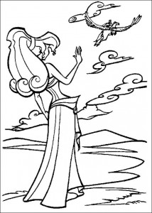 coloring page Hercules (21)
