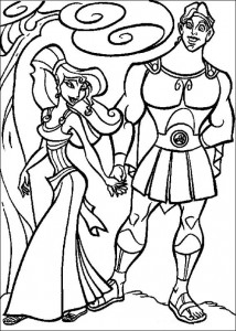 coloring page Hercules (22)