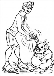 coloring page Hercules (23)