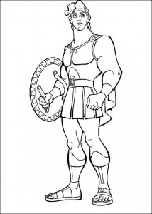 coloring page Hercules (25)