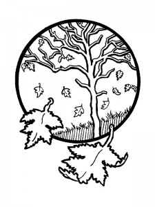 coloring page Autumn (6)