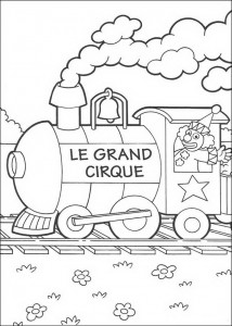 coloring page The circus (1)